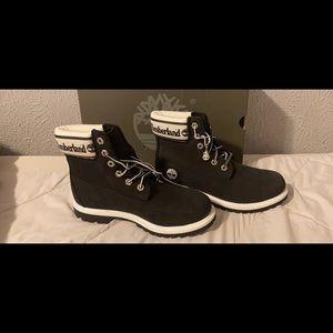 TIMBERLAND PREMIUM 6in waterproof b&w boots